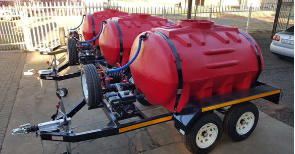 MMFab Water Trailers and Bowsers